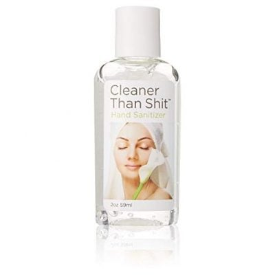 Cleaner Than Shit Hand Sanitizer - Fun Gifts For Him