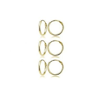 Yellow Gold Flashed Sterling Silver - Fun Gifts For Him