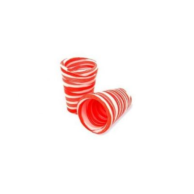 Edible Candy Cane Shot Glasses - Fun Gifts For Him