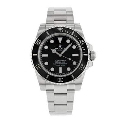 Black Dial Stainless Steel Rolex - Fun Gifts For Him