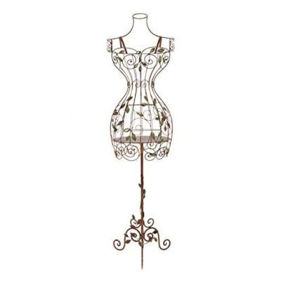 Deco 79 Tall Iron Dress Form Mannequin
