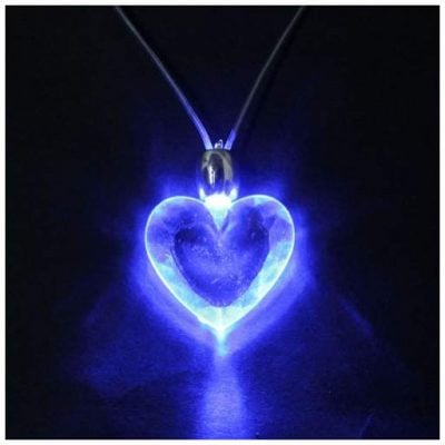 LED Heart Necklace - Fun Gifts For Him
