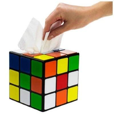 Magic Cube Tissue Box - Fun Gifts For Him