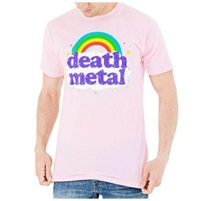 Death Metal Rainbow Shirt - Fun Gifts For Him