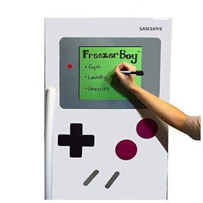 FreezerBoy Refrigerator Magnets (Dry-Erase Whiteboard Set) - Fun Gifts For Him