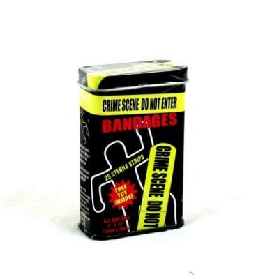 Crime Scene Bandages - Fun Gifts For Him