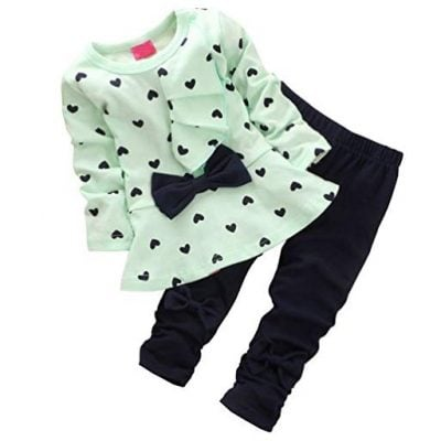 Baby Girls Long Sleeve Pant - Fun Gifts For Him