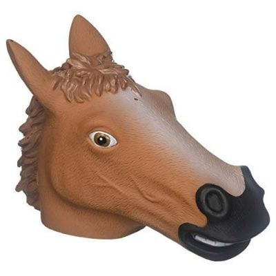 Creepy Horse Head Squirrel Feeder - Fun Gifts For Him