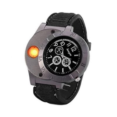 USB Lighter Watch - Fun Gifts For Him