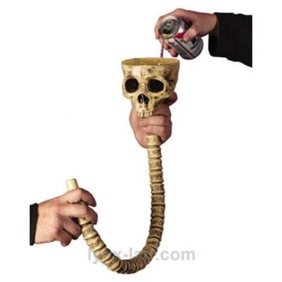 Skull Beer Bong - Fun Gifts For Him