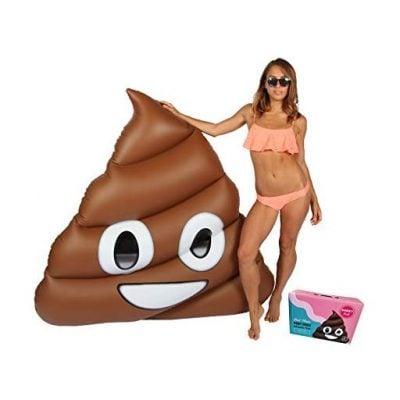 Giant Poop Emoji Pool Float - Fun Gifts For Him