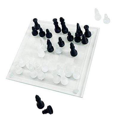 Glass Chess Board - Fun Gifts For Him