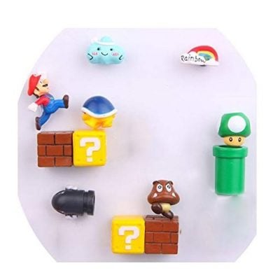 Super Mario Refrigerator Magnets - Fun Gifts For Him