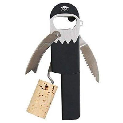 Pirate Peg Leg Corkscrew - Fun Gifts For Him