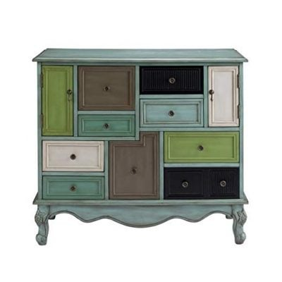 Multicolor Nine Drawer Cabinet - Fun Gifts For Him