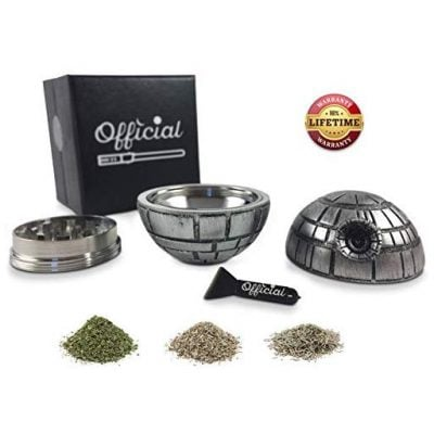 Death Star Weed Grinder - Fun Gifts For Him