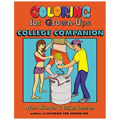 Coloring Book For College Kids - Fun Gifts For Him