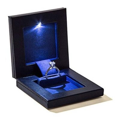 Parker Square Secret Night Box Light up LED - Fun Gifts For Him