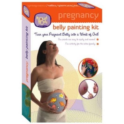 Pregnancy Belly Painting Kit - Fun Gifts For Him