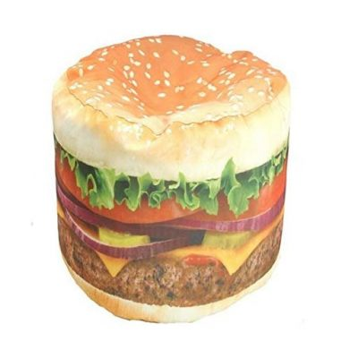 Hamburger Beanbag - Fun Gifts For Him