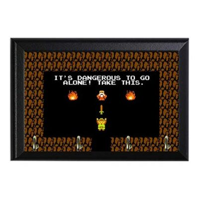 Retro Legend of Zelda Decorative Wall Plaque - Fun Gifts For Him