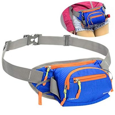 Fanny Pack SINOKAL Waist bag with Water Bottle Holder - Fun Gifts For Him