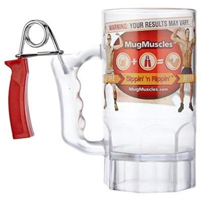 Forearm Workout Mug - Fun Gifts For Him