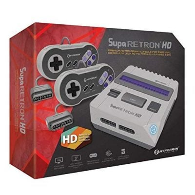 SupaRetroN HD SNES Gaming Console - Fun Gifts For Him