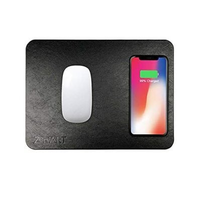 Wireless Charging Mouse Pad - Fun Gifts For Him
