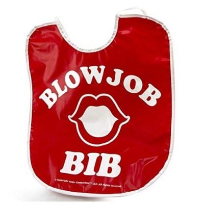 Blowjob Bib - Fun Gifts For Him