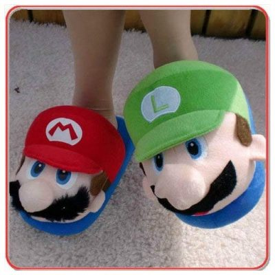 Super Mario Bros. Slippers - Fun Gifts For Him