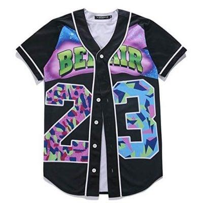 HOP FASHION Youth Unisex Boy Girl Baseball Jersey - Fun Gifts For Him