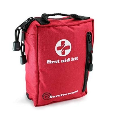 Small First Aid Kit for Hiking - Fun Gifts For Him