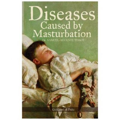 Diseases Caused By Masturbation Book - Fun Gifts For Him