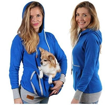 Pet Pouch Hoodie - Fun Gifts For Him