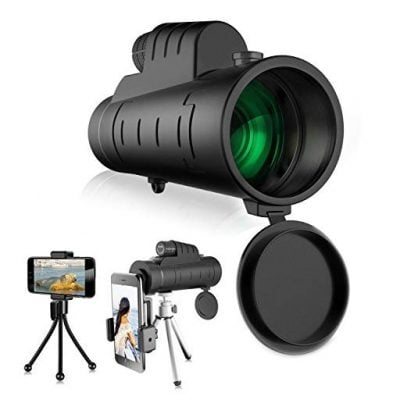 High Magnification Monocular Single-tube Telescope - Fun Gifts For Him