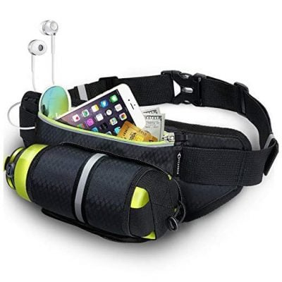 Fanny Pack MYCARBON Waist Pack with Water Bottle Holder - Fun Gifts For Him