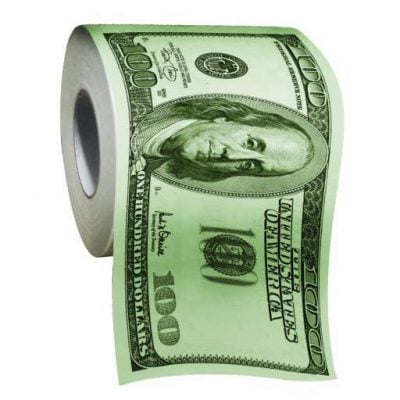 Money Toilet Paper Roll - Fun Gifts For Him