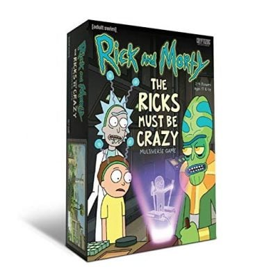 The Ricks Must Be Crazy Multiverse Game - Fun Gifts For Him