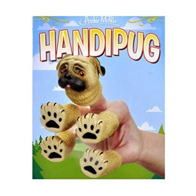 Pug Finger Puppet - Fun Gifts For Him