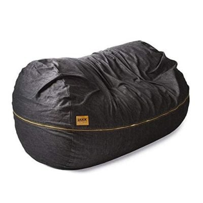 Giant Bean Bag Denim Sofa - Fun Gifts For Him
