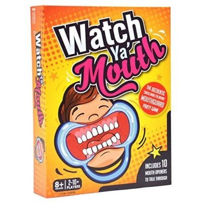 Watch Ya Mouth Party Game - Fun Gifts For Him
