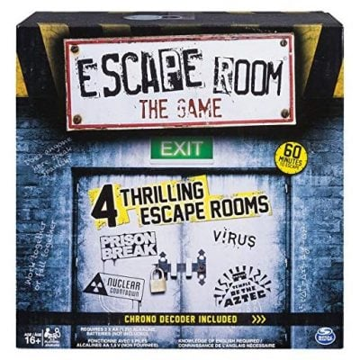 Escape The Room Game - Fun Gifts For Him
