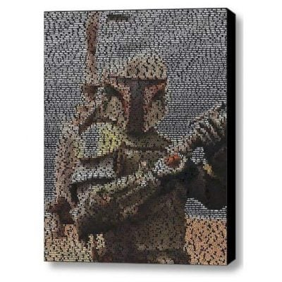 Boba Fett Quotes Mosaic - Fun Gifts For Him