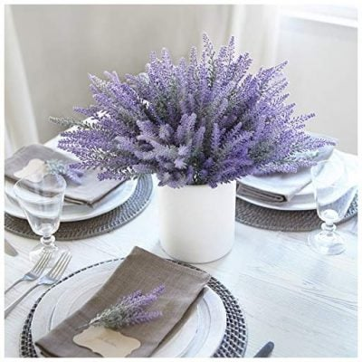 Butterfly Craze Artificial Lavender Flowers - Fun Gifts For Him
