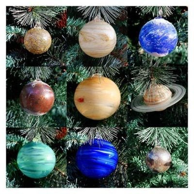 Solar System Tree Ornaments - Fun Gifts For Him