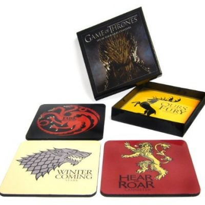 Game of Thrones: House Sigil Coaster Set - Fun Gifts For Him