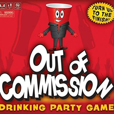 Out of Commission Drinking Party Game - Fun Gifts For Him