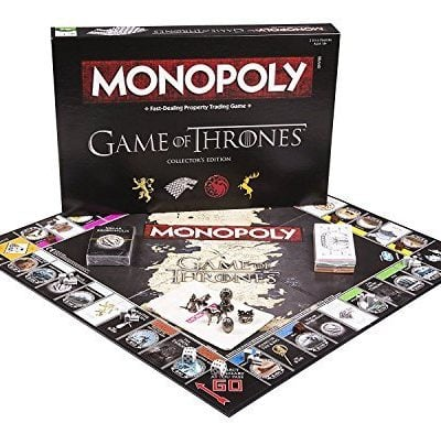 Monopoly Game of Thrones Board Game - Fun Gifts For Him