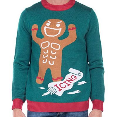 Gingerbread ugly Christmas Sweater - Fun Gifts For Him